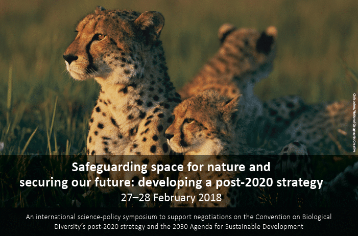 ZSL : Safeguarding space for nature and securing our future. La questione dello spazio è la più scottante nel confronto su come contenere la attuale perdita di biodiversità.