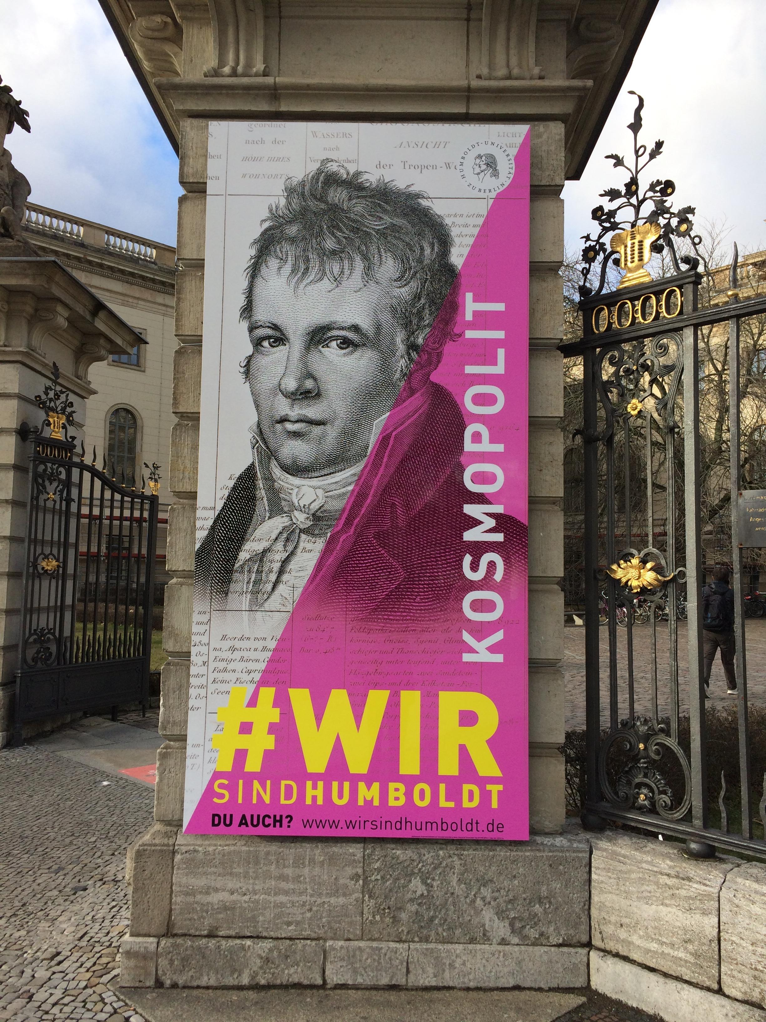 In preparazione della spettacolare mostra sui fratelli Alexander e Wilhelm von Humbold al DHM - Deutsches Historisches Museum di Berlino (inaugurazione il prossimo 19 novembre) cresce di intensità nella capitale tedesca il dibattito sul ruolo dei musei nell'Europa che verrà.Una conversazione collettiva, che riaccende l'interesse del continente per l'importanza di Berlino come capitale d'Europa. A Berlino sulle orme dei Von Humboldt, dunque.