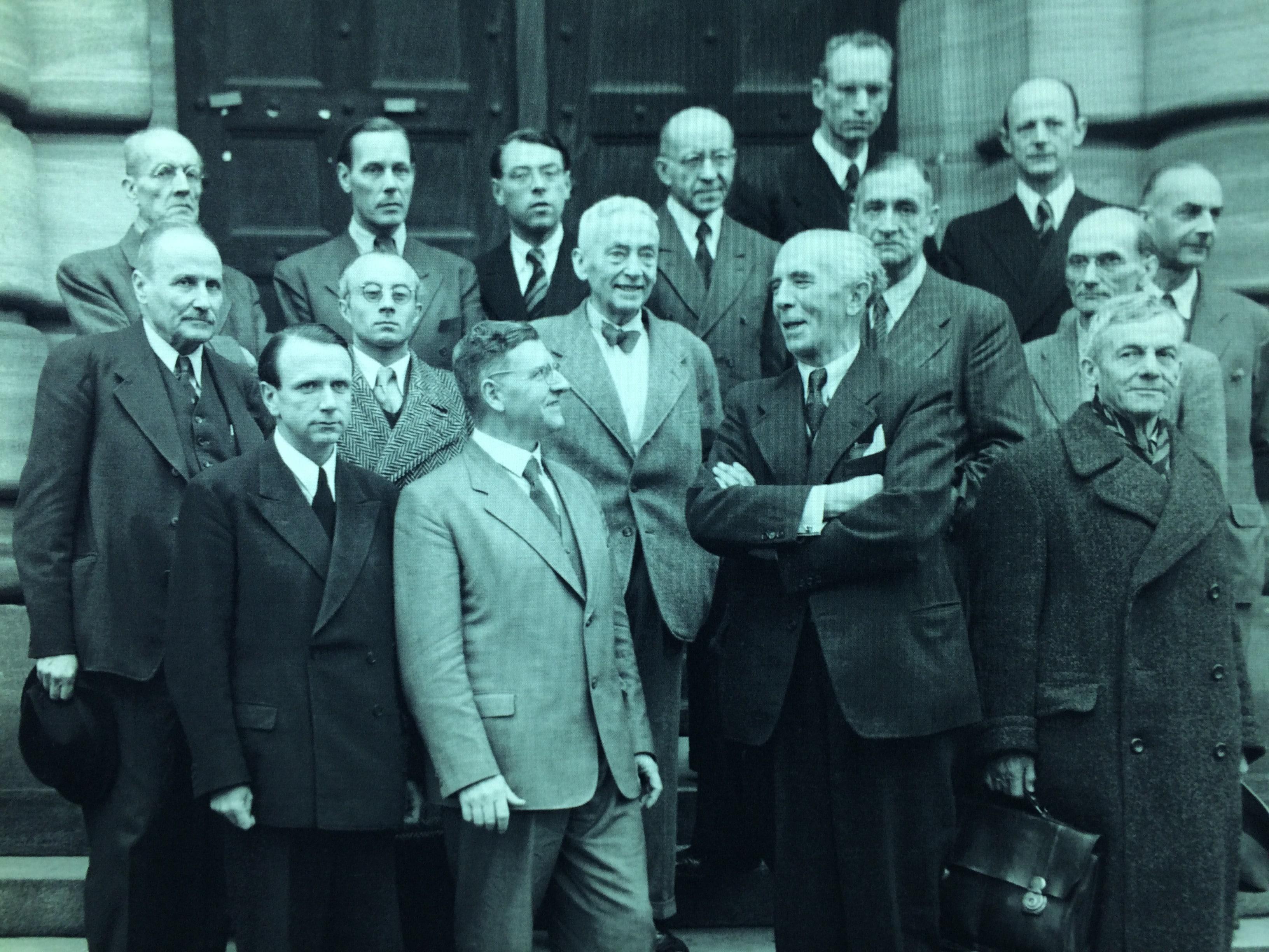 Gli avvocati difensori del processo di Norimberga.