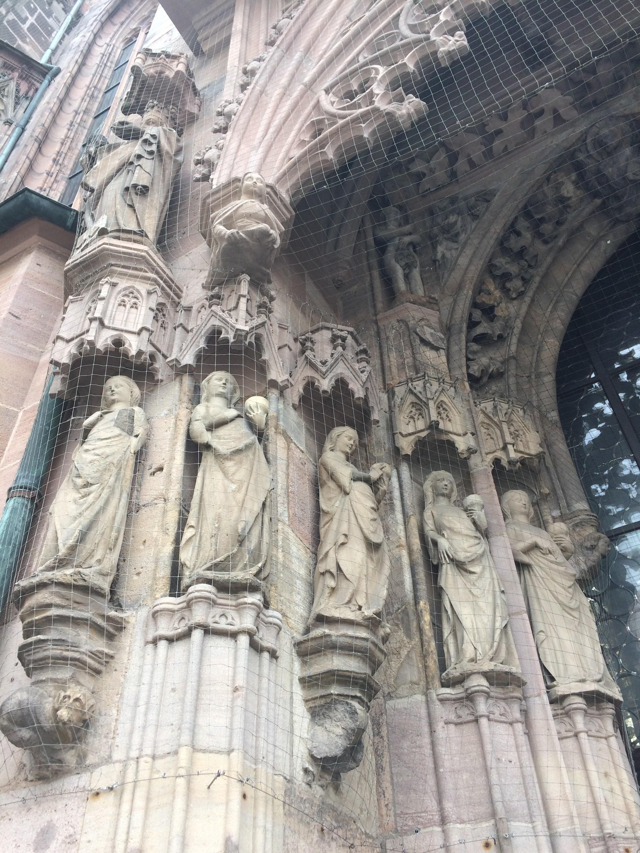 La chiesa di Sankt Sebald a Norimberga.