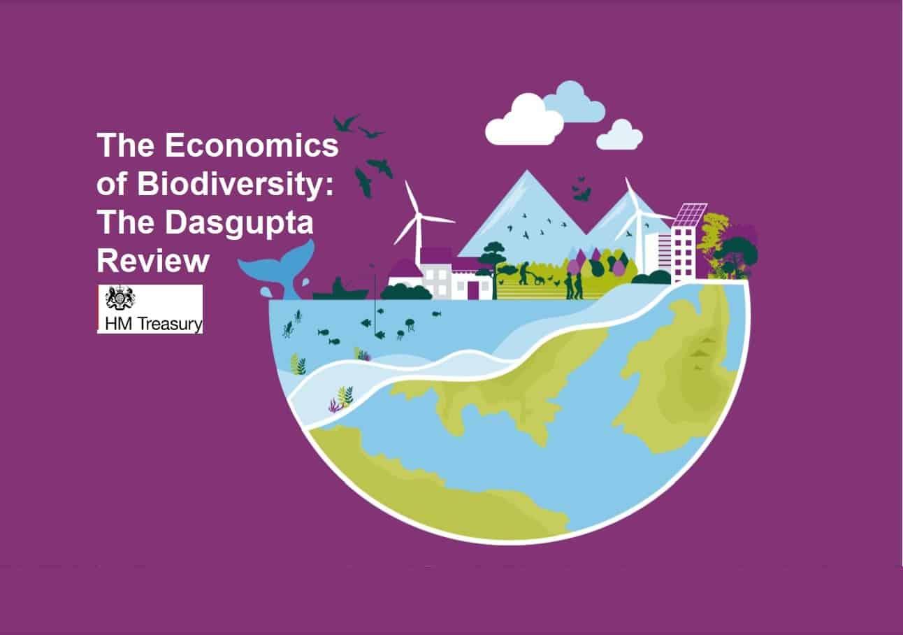 Il 2 febbraio 2021  il Governo inglese ha reso pubblica la Dasgupta Review, ossia un Rapporto di 600 pagine sul posto della biodiversità nella economia della civiltà globale del XXI secolo.